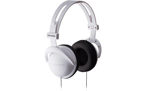 Mix-style H001 Logo White - Casque audio pour 30€