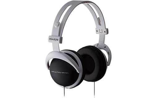 Mix-style H002 Logo Black - Casque audio pour 30€