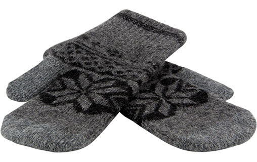 WizGloves Snowflake Mittens Gris S/M - Moufles tactiles iPod/iPhone/iPad pour 15€