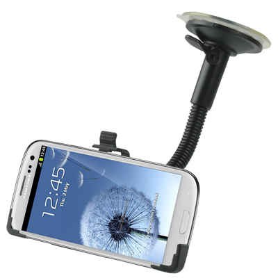 Support voiture ventouse pour Samsung Galaxy SIII / i9300 pour 13€