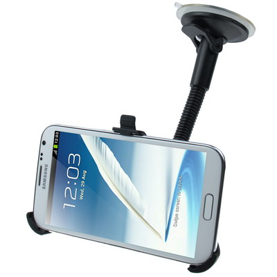 Support voiture ventouse pour Samsung Galaxy Note II / N7100 pour 13€